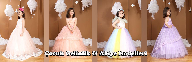Çocuk Gelinlik & Abiye Modelleri