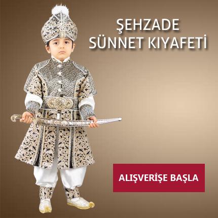 Şehzade Sünnet Kıyafeti