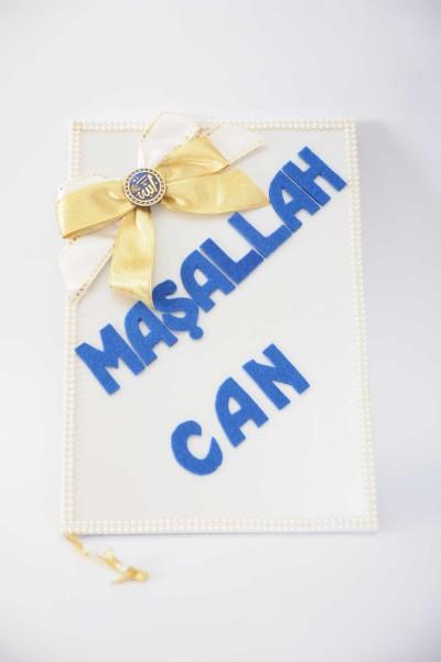 Allah Lafzı Özel İsimli Sünnet Anı Defteri