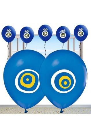 Nazarlıklı Mavi Renkli Sünnet Balonu